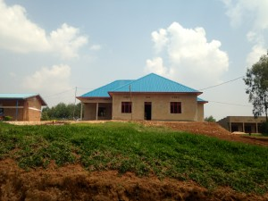 HIV wing of health clinic